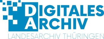 Logo Digitales Landesarchiv Thüringen