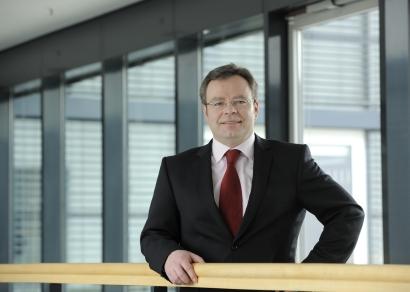 Portrait des Pressesprechers Uwe Büchner