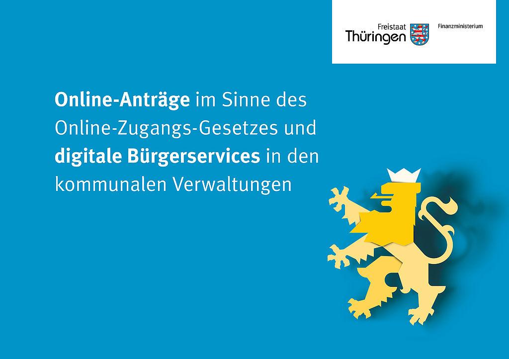 Titelbild Information für Verwaltungen zur Umsetzung OZG