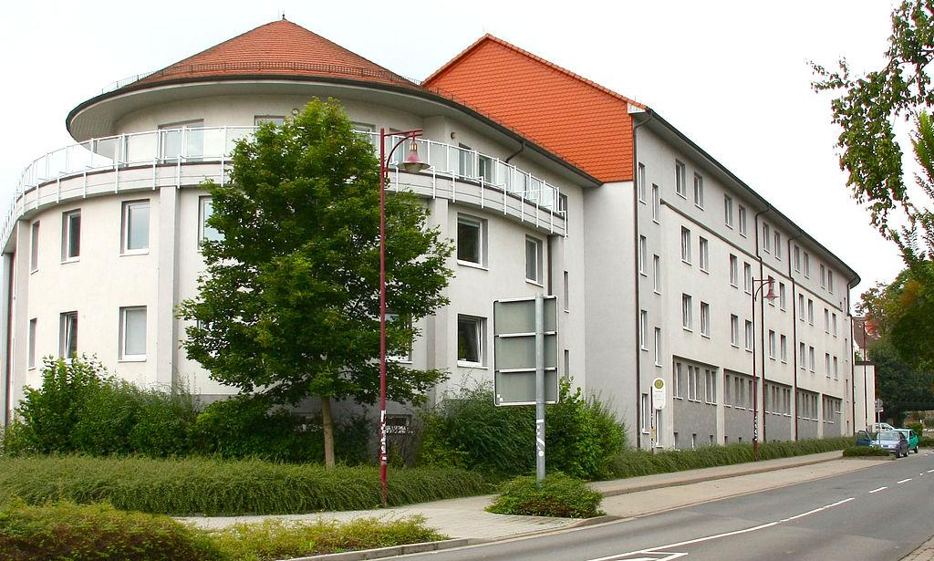 Dienstgebäude Finanzamt Sondershausen