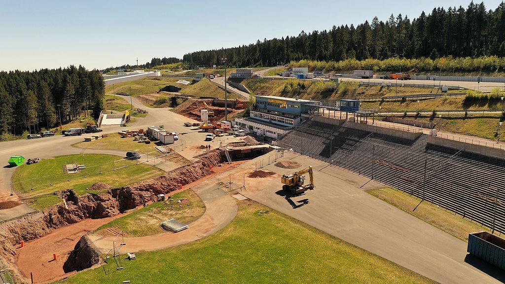 Das neue Tunnelbauwerk im Zentralbereich nimmt Gestalt an.